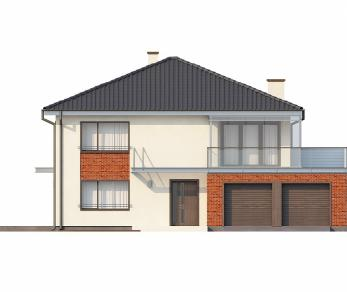 Проект дома Проект Zx30, 251.5 м2