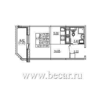 Продажа квартиры Мурино с., Шувалова ул, д. 9