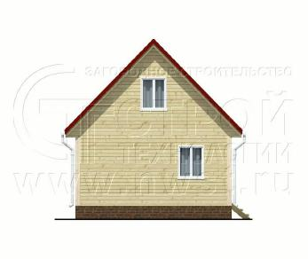 Проект дома Проект дома №39, 42 м2