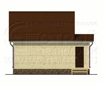 Проект дома Проект дома №42, 40 м2