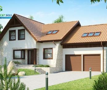 Проект дома Проект z76, 368.4 м2