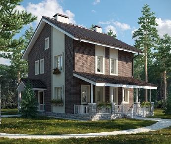 Проект дома AS-2076, 117 м2