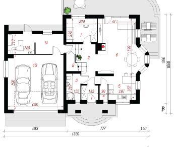 Проект  Дом в тамарисках 4 (Г2), 196.1 м2