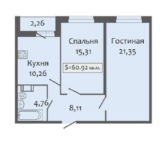 Продажа квартиры Кудрово, Европейский пр., д.13к2