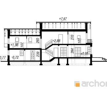 Проект  Дом в вербене 2 (Г2), 186.6 м2