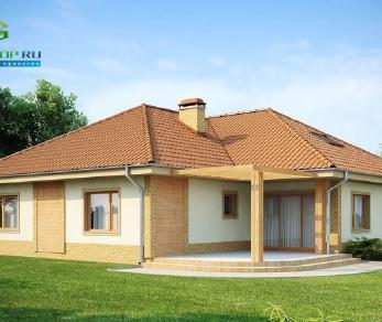 Проект дома Проект z77, 222.7 м2