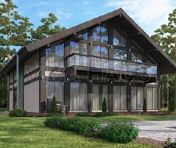 Проект  Дом МЕЛОДИЯ, 277 м2