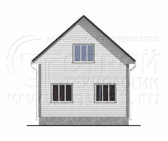 Проект дома Проект дома №105, 54 м2