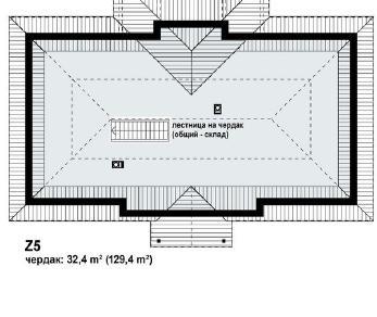Проект дома Проект z5, 122.9 м2