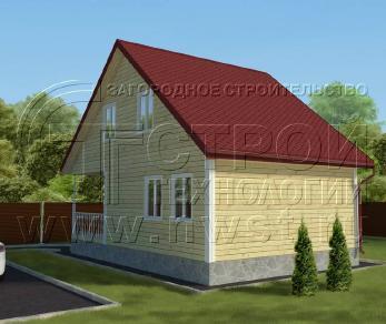 Проект дома Проект дома №114, 49.5 м2