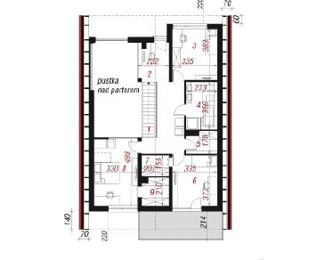 Проект  Дом в кирказоне, 185.1 м2