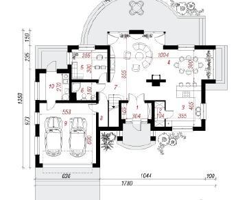 Проект  Вилла Александра, 226.3 м2