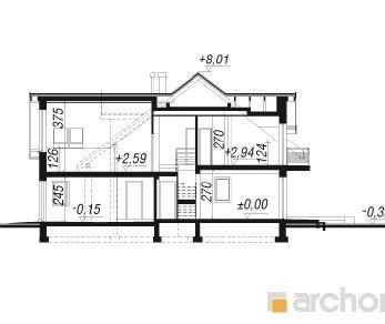 Проект  Дом в клематисах 11, 271.8 м2