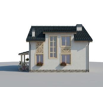 Проект дома AS-2055, 131 м2