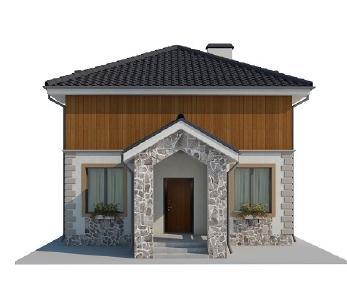 Проект дома AS-2035, 126 м2