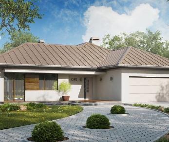 Проект дома Проект z285, 169.2 м2