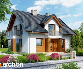 Проект  Дом в рододендронах 6 (WН), 131.02 м2