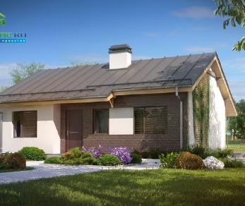 Проект дома Проект z262, 66.8 м2