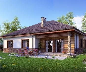 Проект дома Проект x1, 238 м2
