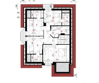Проект  Дом в зорьках (П), 288.8 м2