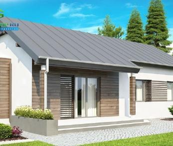 Проект дома Проект z93, 101.5 м2