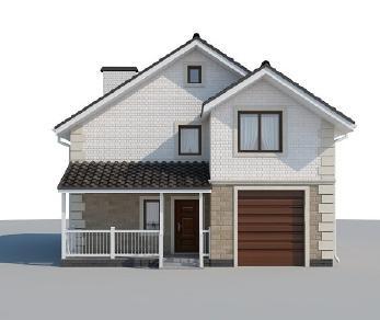Проект дома AS-2077, 122 м2