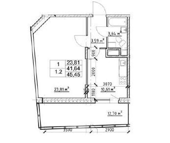 Продажа квартиры деревня Кудрово, Европейский проспект, д. 21к2