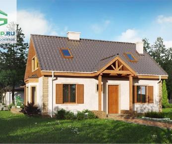Проект дома Проект z14w, 139.5 м2