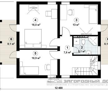 Проект дома Пестово-4, 155 м2