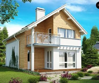 Проект дома Проект Z137, 126.4 м2