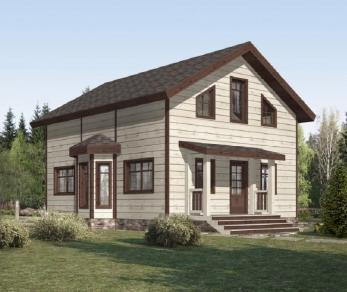 Проект дома КП-029, 136.9 м2