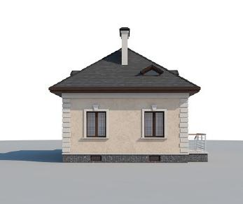 Проект дома AS-2254, 53 м2