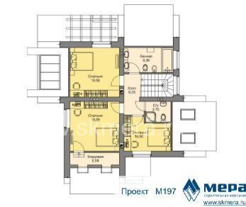 Проект дома M197, 196 м2