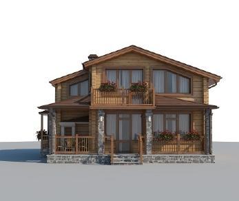 Проект дома AS-2195-2, 105 м2