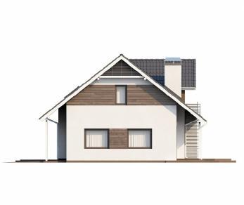 Проект дома Проект Z160, 263.4 м2