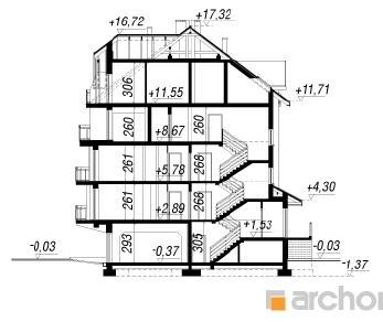 Проект  Дом у бульвара 4, 1667.5 м2