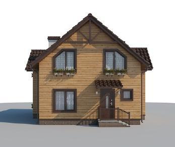 Проект дома AS-2233, 153 м2