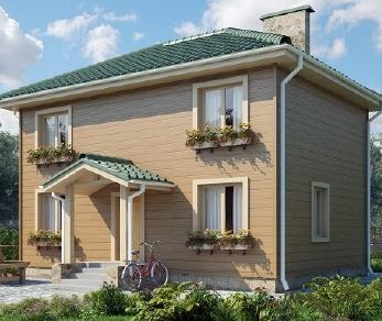 Проект дома AS-2095, 96 м2