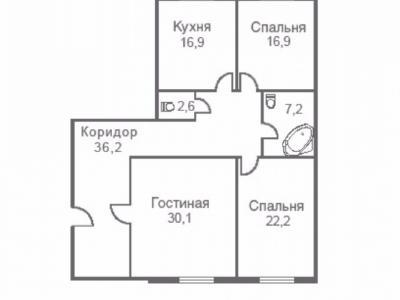 Продажа квартиры 132 м2 Егорова ул., д.25
