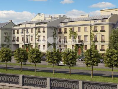Продажа элитной квартиры 152 м2 в новостройке, Лейтенанта Шмидта наб., д.21 - №73805