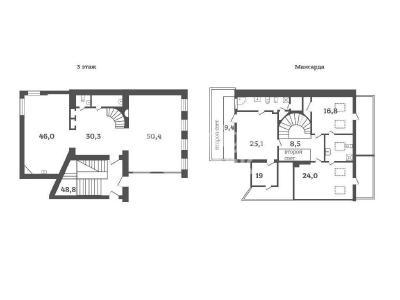 Аренда квартиры 251 м2 Саперный пер., д.24