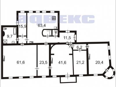 Продажа квартиры 307.8 м2 Чайковского ул., д.38