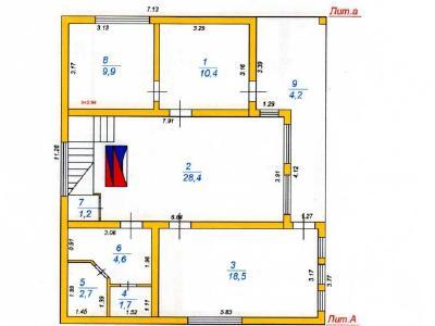 Продажа дома бизнес-класса 200 м2 Межно