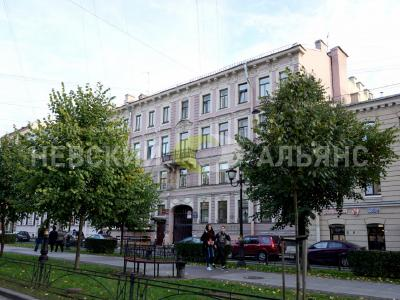 Продажа квартиры в старом фонде 180 м2 Фурштатская ул., д.23