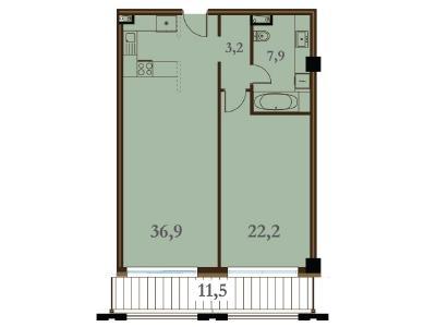 Продажа квартиры 70.2 м2 Конногвардейский бул., д.5