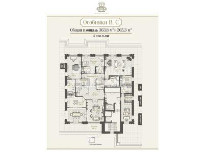 Продажа квартиры 495 м2 Реки Фонтанки наб., д.76