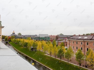Аренда квартиры 280 м2 Адмиралтейского канала наб., д. 29