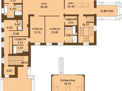 Продажа дома/коттеджи 1216 м2 Мартынова наб., д.70