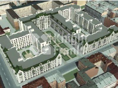 Продажа строящиеся проекты 137 м2 Басков пер., д.4