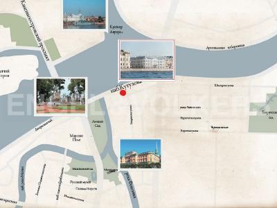 Продажа строящиеся проекты 155 м2 Кутузова наб., д.24
